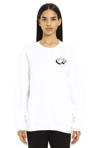 Printed crew-neck sweatshirt, Sweatshirts Off-White woman