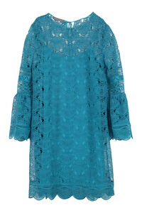 Floral macramé-lace dress, Mini dresses Alberta Ferretti woman