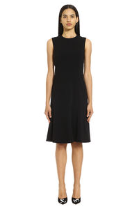 Salire stretch crepe dress, Knee Lenght Dresses Pinko woman