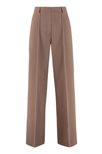 Cleo tailored wide-leg trousers, Trousers suits Nanushka woman