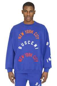 Embroidered cotton sweatshirt, Sweatshirts Buscemi man