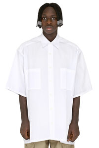 Cotton poplin shirt, Short sleeve Shirts Givenchy man