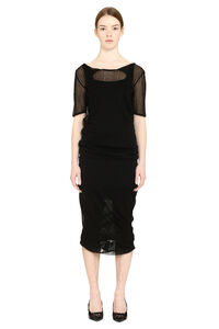 Ribbed knit dress, Knee Lenght Dresses Bottega Veneta woman