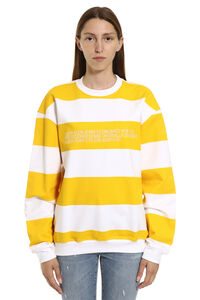 Striped cotton sweatshirt, Sweatshirts CALVIN KLEIN JEANS EST. 1978 woman