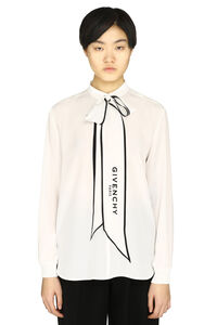 Pussy-bow silk blouse, Blouses Givenchy woman