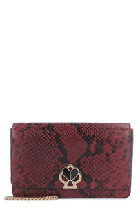 Nicola printed leather wallet on chain, Clutch Kate Spade New York woman
