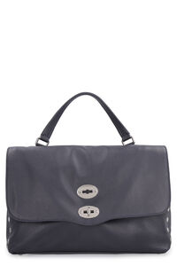 Grainy leather Postina-M bag, Top handle Zanellato woman