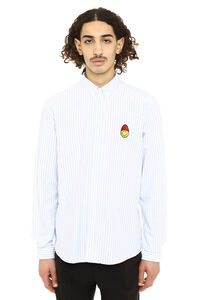 Striped button-down shirt, Striped Shirts AMI man