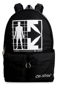 Technical fabric backpack, Backpack Off-White man