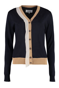 Wool blend cardigan with buttons, Cardigan Maison Margiela woman