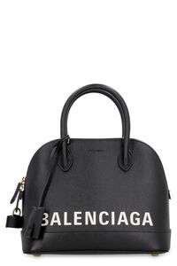 Ville leather handbag, Top handle Balenciaga woman