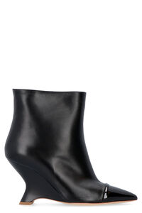 Dita leather ankle boots, Ankle Boots Malone Souliers woman