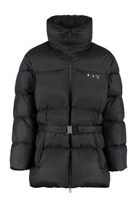 Belted full zip down jacket, Down jackets Off-White man