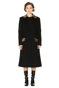 Wool and cashmere coat, Long Lenght Coats Dolce & Gabbana woman