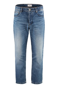 Carrot-fit jeans, Straight jeans AMI man