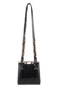 Olivia croco-print leather shoulder bag, Shoulderbag Nico Giani woman