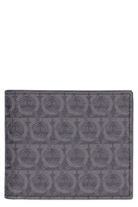 All over logo print flap-over wallet, Wallets Salvatore Ferragamo man
