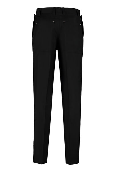 Wool and mohair tailored trousers