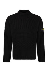 Wool blend pullover, Crew necks sweaters Stone Island man