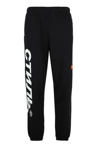Stretch cotton track-pants, Track Pants Heron Preston man