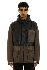 Creased effect nylon jacket, Raincoats And Windbreaker C.P. Company man
