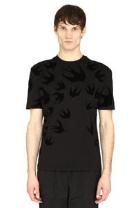 Swallow print t-shirt, Short sleeve t-shirts McQ Alexander McQueen man
