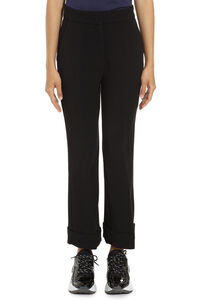 Necessitare flared viscose trousers, Trousers suits Pinko woman