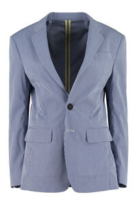 Gingham cotton blazer, Blazers Dsquared2 woman
