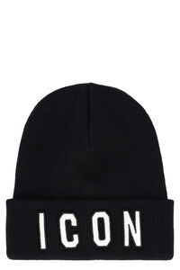 Cappello Icon in lana a coste, Cappelli Dsquared2 man