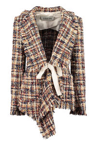 Multicolor tweed jacket, Casual Jackets Lanvin woman