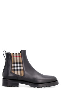 Leather Chelsea boots, Ankle Boots Burberry woman