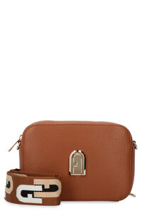 Leather camera bag, Shoulderbag Furla woman