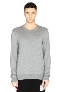 Elbow patches pullover, Crew necks sweaters Maison Margiela man