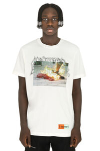Heron Preston x Sami Miro Vintage - Crew-neck cotton T-shirt, Short sleeve t-shirts Heron Preston man