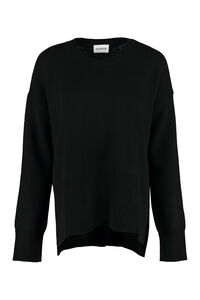 Wool and cashmere sweater, Crew neck sweaters Parosh woman