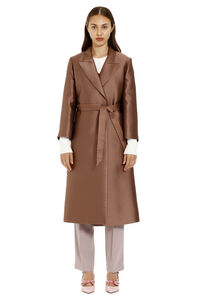 Duchesse silk coat, Raincoats And Windbreaker Max Mara Studio woman