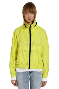 Nylon windbreaker jacket, Raincoats And Windbreaker Kenzo woman