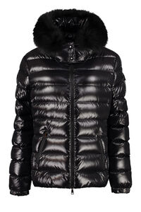 Badyfur hooded down jacket, Down Jackets Moncler woman