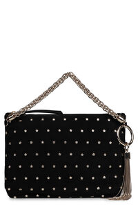Callie studded leather handbag, Top handle Jimmy Choo woman