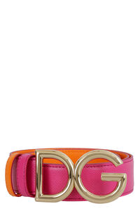 Reversible and adjustable leather belt, Belts Dolce & Gabbana woman