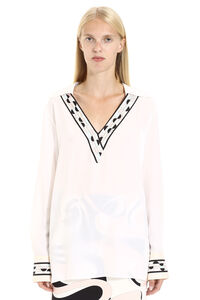 Printed silk blouse, Blouses Emilio Pucci woman