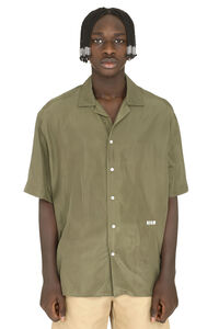 Silk shirt, Short sleeve Shirts MSGM man