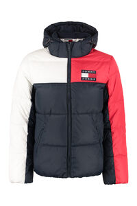 Full zip padded hooded jacket, Down jackets Tommy Jeans man
