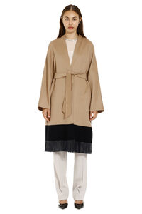 Virgin wool coat, Knee Lenght Coats Max Mara Studio woman