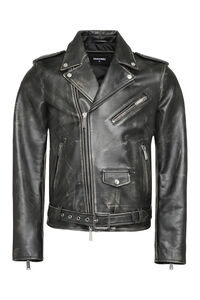 Calf leather jacket, Leather jackets Dsquared2 man