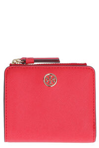 Robinson mini leather wallet, Wallets Tory Burch woman