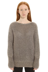 Mohair blend sweater, Crew neck sweaters Fabiana Filippi woman