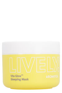 Lively Vita Glow Sleeping Mask, 100 g/3.5 fl oz, Masks Aromatica woman