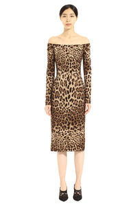 Printed wool dress, Printed dresses Dolce & Gabbana woman