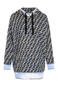 Printed cotton hoodie - Fendi x Joshua Vides, Hoodies Fendi woman